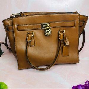 Michael Kors Cognac Hamilton Bag